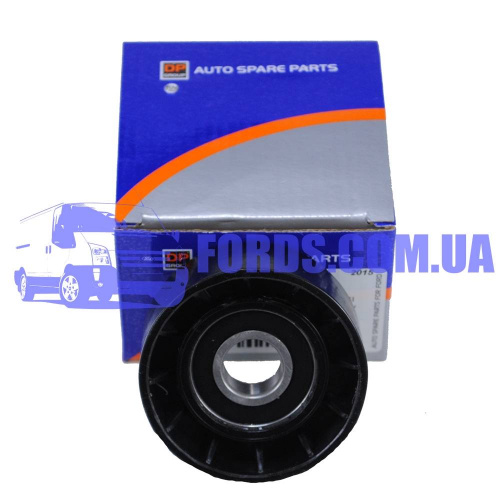 1445915 Ролик ремня FORD TRANSIT 2006- (2.4TDCI D=65MM) DP GROUP