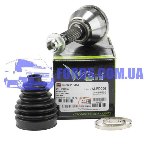 4512586 Шрус наружный FORD CONNECT 2002-2013 (24/25 75PS/90PS) VEKA