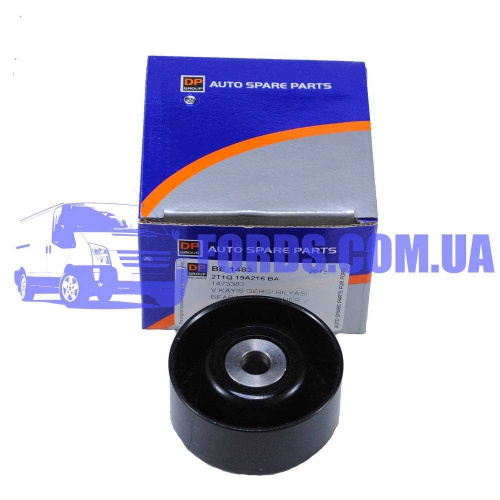 1473383 Ролик ремня FORD CONNECT 2002-2013 (1.8TDCI D=60MM Металл) DP GROUP