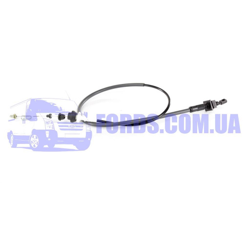 6762680 Трос газа FORD SIERRA/SCORPIO 1985-1994 (2.0 DOHC) DP GROUP