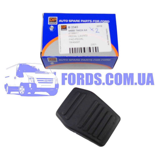 6789917 Накладка педали FORD TRANSIT/FOCUS/MONDEO DP GROUP