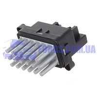 6G9T19E624AE Резистор отопителя FORD FOCUS/C-MAX/FIESTA/KUGA/MONDEO 2003-2014 DP GROUP