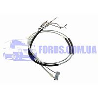 7T162A603CD Трос ручника FORD CONNECT 2002-2009 (+ABS/DISK) ECEM