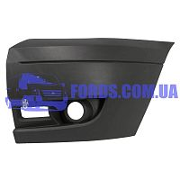 6C1117E889ADM5AB Бампер передний левый FORD TRANSIT 2006-2011 (WITH FOG) DP GROUP