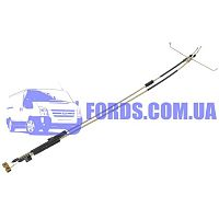 7T162A603CD Трос ручника FORD CONNECT 2002-2009 (+ABS/DISK) DP GROUP