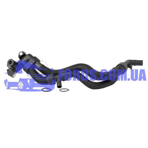 1202487 Патрубок помпы FORD FIESTA/FUSION 2001-2006 DP GROUP